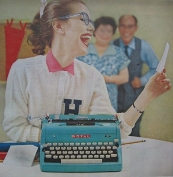 Jean was delighted with her very first rejection letter. It meant that she had finally arrived as a writer.